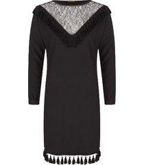 supertrash jurk zwart