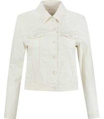 para mi mae jacket 003 off white ss211.005160 denim