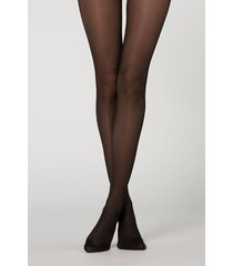calzedonia 40 denier extremely strong tights woman black size 4
