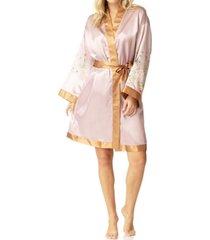 honey minx butterfly kimono robe