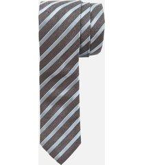 canali men's silk regiment stripe tie - multi