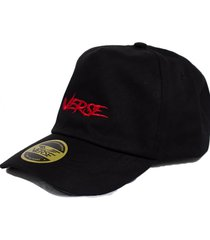 bone dad cap verse limited rock strapback preto
