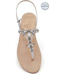 dea sandals scopolo jewel thong sandals