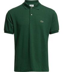 lacoste poloshirt short sleeves polos short-sleeved groen lacoste