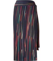 lygia & nanny orixá beach skirt - blue