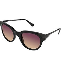 53mm oversized oval sunglasses