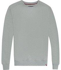 tommy hilfiger heren sweater - grijs