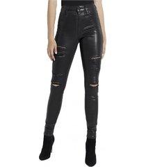 jeans 1981 metallic skinny negro guess