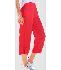 culottebyxor dress in röd