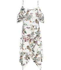 abito con volant (bianco) - bodyflirt boutique