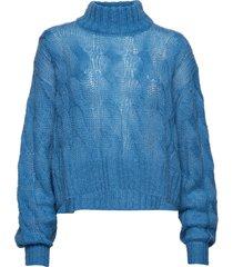 true sweater turtleneck coltrui blauw hope