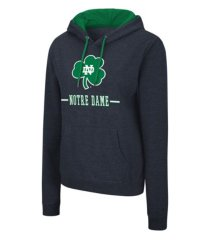 colosseum notre dame fighting irish women's genius hooded sweatshirt