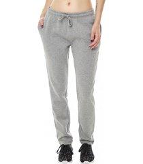pantalon buzo pitillo gris corona
