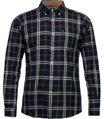 barbour high chk 20 tf overhemd casual blauw barbour