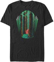 fifth sun men's redwood camp short sleeve crew t-shirt