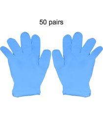 guantes desechables de nitrilo resistencia al desgaste químico de alim
