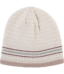 women's lined recycled knit water repellent beanie