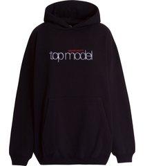 balenciaga top model hoodie