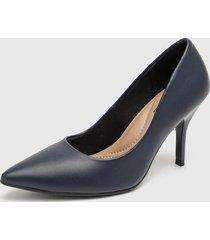 zapato azul marino beira rio