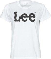 t-shirt korte mouw lee logo tee