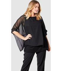 2-in-1-shirt sara lindholm zwart