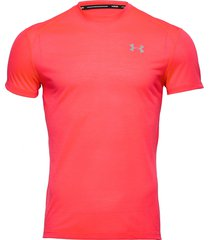 ua streaker 2.0 shortsleeve t-shirts short-sleeved röd under armour