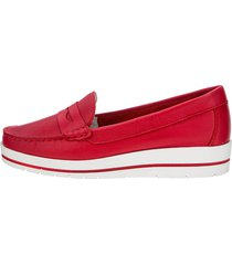 loafers liva loop röd