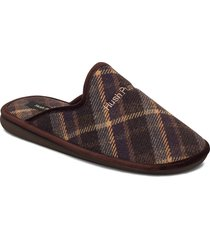 p548 slippers tofflor brun hush puppies
