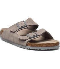 arizona soft footbed shoes summer shoes flat sandals beige birkenstock