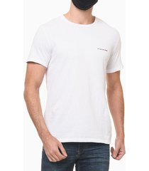 camiseta masculina with love branca calvin klein jeans - ggg