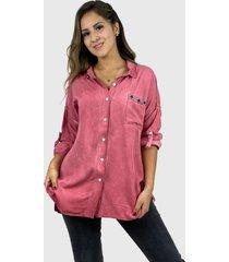 blusa casual boho chic rosado enigmática boutique