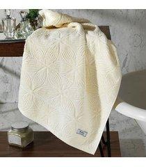 toalha de rosto dohler jacquard agatha, liso, marfim - fj-5677
