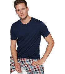 camiseta azul oscuro gap