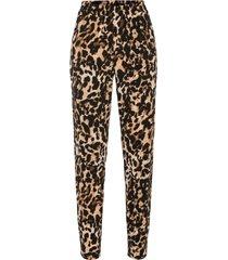 pantalone in maglina fantasia (nero) - bodyflirt boutique