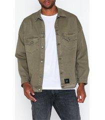 sixth june oversized denim jacket jackor sand