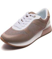 tenis rosa-blanco tommy hilfiger