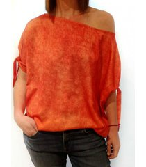 blusa naranja gold natalia amanecer
