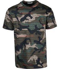 valentino military jersey t-shirt