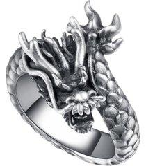 anillo punk retro gotico hombre ajustable ff046 dragon