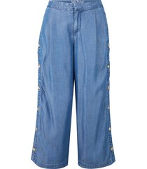 pantaloni culotte in tencel™ lyocell (blu) - john baner jeanswear