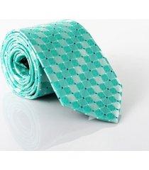 gravata isla galerias jacquard 1200 fios cor verde claro