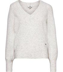 valeria sweater gebreide trui grijs twist & tango