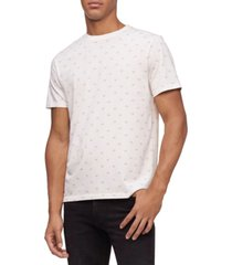 calvin klein men's liquid touch logo graphic pima cotton t-shirt