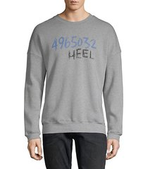 graphic cotton sweatshirt
