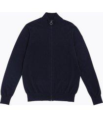 cardigan in lana con zip