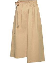ruby skirt knälång kjol beige mother of pearl