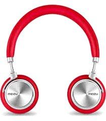 audifonos diademade metal plegable meizu hd-50 - rojo