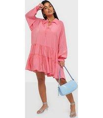 glamorous loose flounce dress loose fit dresses