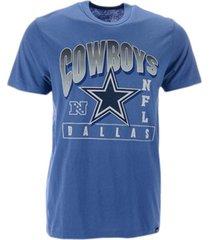 '47 brand dallas cowboys men's top notch franklin t-shirt