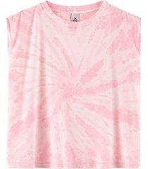 regata hering reta tie dye rosa